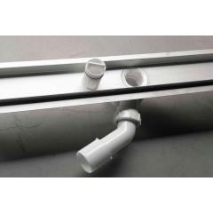 AQUALINE - BUCANERA nerezový sprchový kanálek s roštem, 900x110x90 mm NO3190