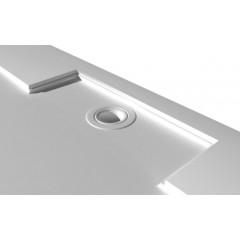 GELCO - IRENA sprchová vanička z litého mramoru, obdélník 130x80x3,5cm HI13080