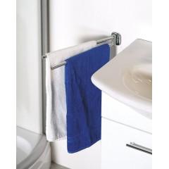AQUALINE - RUMBA otočný držák ručníků dvojitý, 450mm, chrom RB121