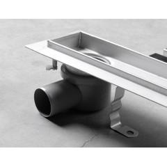 AQUALINE - VENTO nerezový sprchový kanálek s roštem, 860x140x92 mm 2708-90