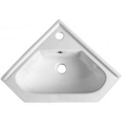AQUALINE - Keramické umyvadlo rohové 41x18x41cm, nábytkové 1601-40