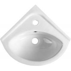 AQUALINE - LUIGI keramické rohové umývátko 34x34cm, bílá FS161