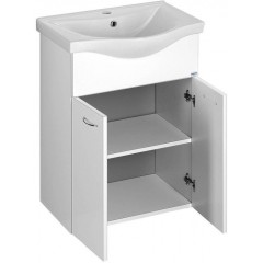 AQUALINE - KERAMIA FRESH umyvadlová skříňka 51,1x74x34cm, bílá 50057