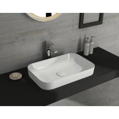 ISVEA - SOTT AQUA keramické umyvadlo 60x38cm, bílá 10SQ50060
