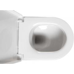 AQUALINE - MODIS závěsná WC mísa, 36x52 cm, bílá MD001