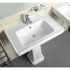 GSI - CLASSIC keramické umyvadlo 90x50 cm, bílá ExtraGlaze 8788111