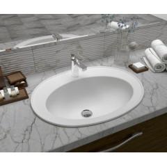 AQUALINE - SARA keramické umyvadlo 54x41 cm, zápustné FS1630