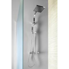 AQUALINE - JANE sprchový sloup s termostatickou baterií, hranatý, chrom 1202-10