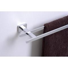 AQUALINE - APOLLO dvojitý držák ručníků, 550 mm, chrom 1416-11