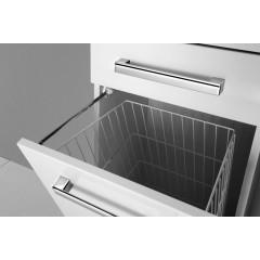 AQUALINE - VEGA skříňka vysoká s košem, 40x184x31cm, bílá VG180
