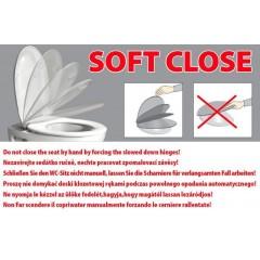 ISVEA - SOLUZIONE, PURITY WC sedátko Soft Close, duroplast, bílá 40S30200I