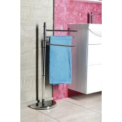 AQUALINE - HIBISCUS stojan s držákem ručníků, chrom HI31