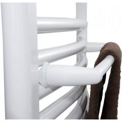 AQUALINE - Sušák ručníků na otopná tělesa 46 cm rovný, bílá IDR-50