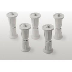 Nožičky pro vaničku POLYSAN z litého mramoru (5ks/sada) AWG05