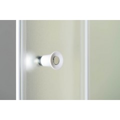 AQUALINE - AMADEO posuvné sprchové dveře 1000 mm, sklo BRICK BTS100