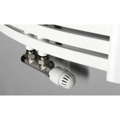 AQUALINE - STING otopné těleso 550x1237 mm, středové připojení, 589 W, bílá NG512