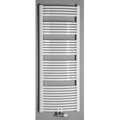 AQUALINE - STING otopné těleso 550x1741 mm, středové připojení, 839 W, bílá NG517
