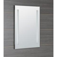AQUALINE - LED podsvícené zrcadlo 50x70cm, kolíbkový vypínač ATH5