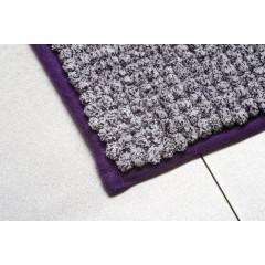 AQUALINE - Koupelnová předložka 50x70cm, fialová 7021313