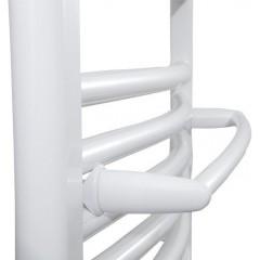 AQUALINE - Sušák ručníků na otopná tělesa 36 cm rovný, bílá IDR-40