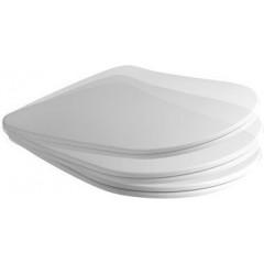 KERASAN - NOLITA WC sedátko SLIM Soft Close, duroplast, bílá 539101