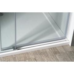 GELCO - VOLCANO BLACK sprchové dveře 1800 mm, čiré sklo GV1418