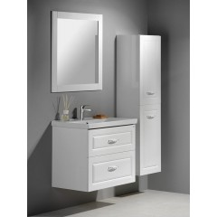 AQUALINE - SAVA 80 nábytkové umyvadlo 80x46x16,5 cm 2080