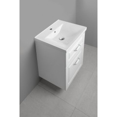 AQUALINE - FAVOLO umyvadlová skříňka 52x72,5x44cm, bílá mat FV255