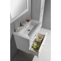 AQUALINE - FAVOLO umyvadlová skříňka 76,5x60x44,6cm, bílá mat FV280