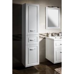 AQUALINE - FAVOLO vysoká skříňka košem 40x184x31cm, bílá mat FV180
