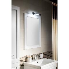 AQUALINE - FAVOLO zrcadlo v rámu 60x80cm, bílá mat FV060