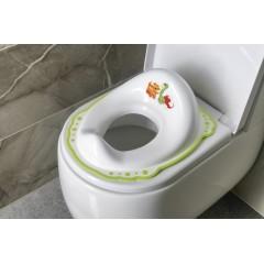 AQUALINE - Dětské WC sedátko, Dinosauři, bílá 7776