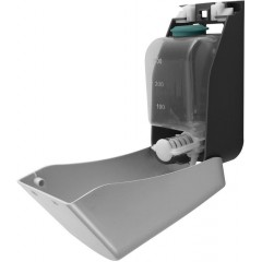 AQUALINE - Dávkovač tekutého mýdla na zavěšení, ABS šedá, 400 ml 1319-77
