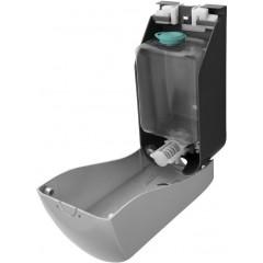 AQUALINE - Dávkovač tekutého mýdla na zavěšení, ABS šedá, 1000 ml 1319-78