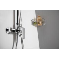 AQUALINE - FACTOR sprchový sloup s pákovou baterií, chrom FC960