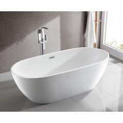 AQUALINE - DOURO volně stojící vana, 180x80 cm, bílá E1880