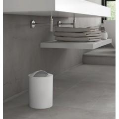 AQUALINE - EYE odpadkový koš, 6 l, plast ABS, bílá 120902