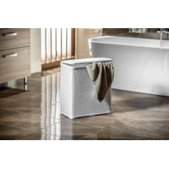 AQUALINE - AMBROGIO koš na prádlo 50x55x28 cm, bílá 203802