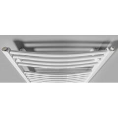 AQUALINE - ORBIT-E elektrické otopné těleso oblé 450x960 mm, 300W, bílá ILEO94T