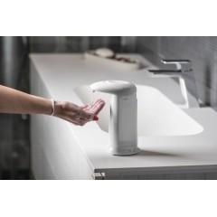 AQUALINE - Bezdotykový dávkovač mýdla na postavení, 350 ml, 83x196x135mm, ABS/bílá 2292