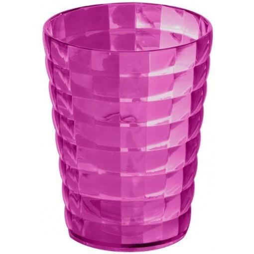 AQUALINE - GLADY sklenka na postavení, růžová GL9876