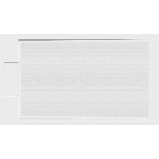 GELCO - EMA sprchová vanička z litého mramoru, obdélník 120x80x3 cm PE12080