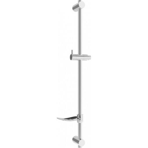 MEXEN - DF Posuvný držák sprchy s mýdlenkou, 80 cm, chrom 79382-00