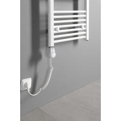 AQUALINE - Elektrická topná tyč s integrovaným termostatem 600W, bílá TS-600B