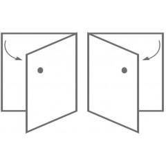 CERSANIT - SLOUPEK OLIVIA WHITE UNIVERSAL VLASTNÍ MONTÁŽ (S543-007-DSM)