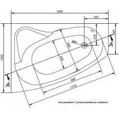 CERSANIT - VANA SICILIA NEW PRAVÁ 140X100 cm (S301-094)