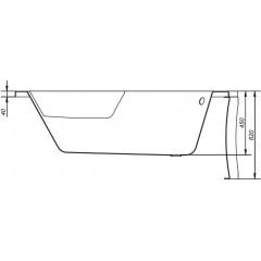 CERSANIT - VANA SICILIA NEW PRAVÁ 170X100 cm (S301-098)