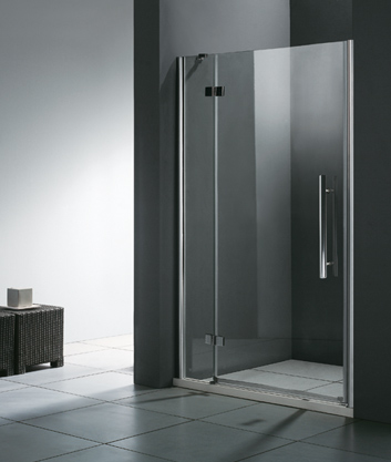 Aquatek Better B5 CHROM Sprchové dveře do niky čiré sklo 8mm, 86-90x195cm