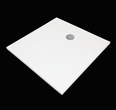 Aquatek FUSION 90 sprchová vanička z litého mramoru čtvercová
