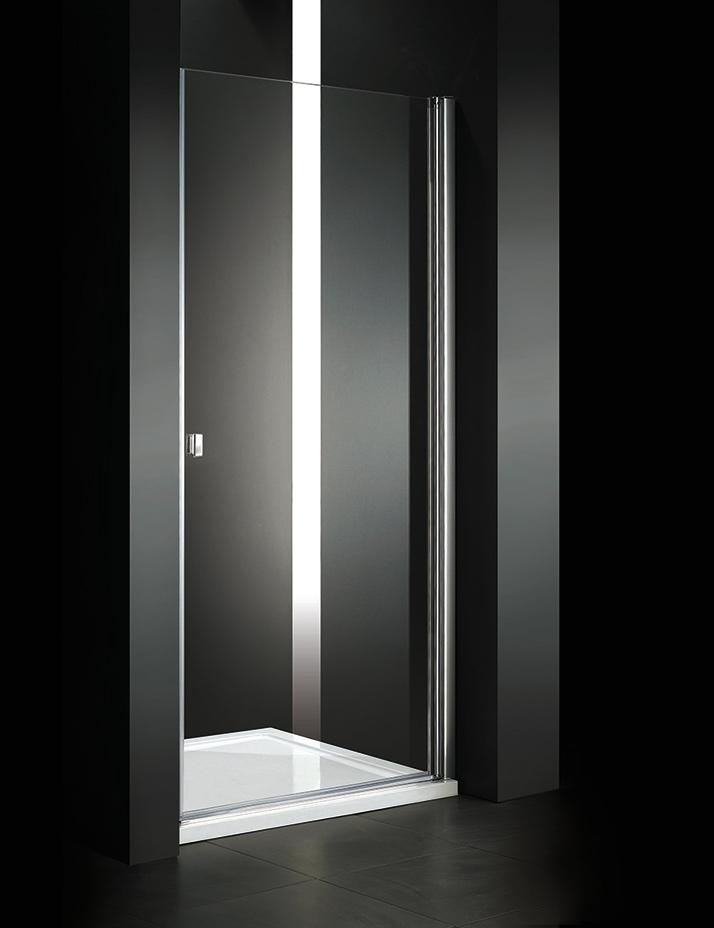 Aquatek Glass B1 85 sprchové dveře do niky jednokřídlé 81-85cm